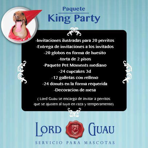 Paquete King Party